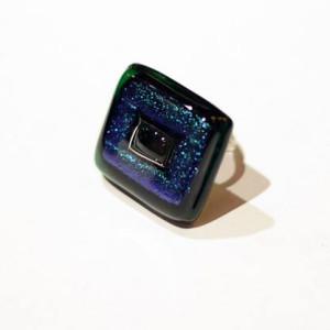 Anello Armonia blu